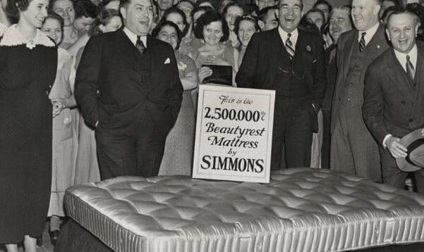 El colchón en el Siglo XX: del muelle al látex